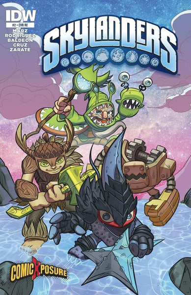 Skylanders #2 ComicXposure Exclusive Variant