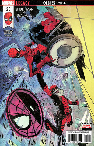 SPIDER-MAN DEADPOOL #26 LEG