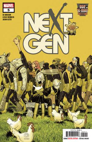 AGE OF X-MAN NEXTGEN #5 (OF 5)