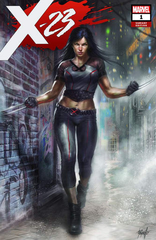 X-23 #1 UNKNOWN LUCIO PARRILLO EXCLUSIVE