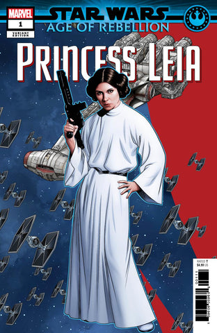 STAR WARS AOR PRINCESS LEIA #1 MCKONE PUZZLE PC VAR