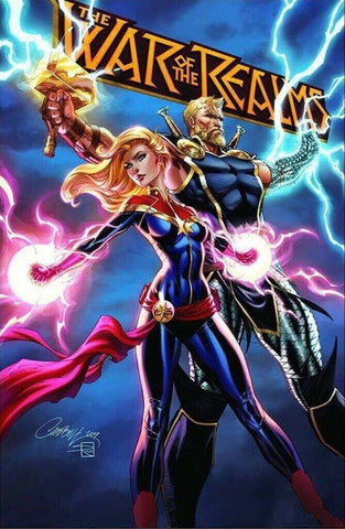 WAR OF REALMS #1 (OF 6) J SCOTT CAMPBELL EXCLUSIVE