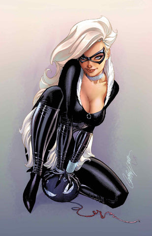 BLACK CAT #2 J SCOTT CAMPBELL HOMAGE VIRGIN VARIANT