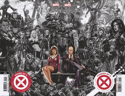 HOUSE OF X #1 / POWERS OF X #1 5TH PTG BROOKS CONNECTING COVERS VAR