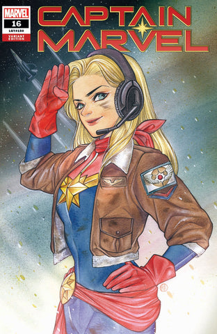 CAPTAIN MARVEL #16 PEACH MOMOKO EXCLUSIVE