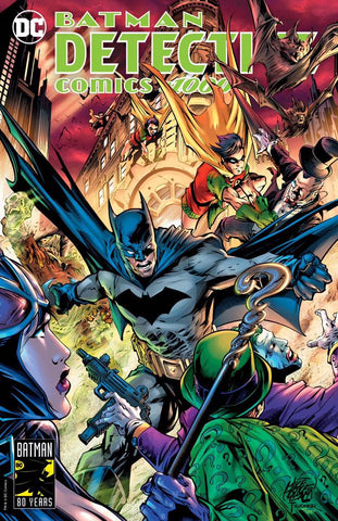 DETECTIVE COMICS #1000 MIKE LILLY EXCLUSIVE