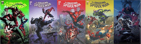 AMAZING SPIDER-MAN #796-801 COMICICXPOSURE 5 PACK & DELLOTTO EXCLUSIVE