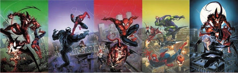 AMAZING SPIDER-MAN #796-800 COMICICXPOSURE CLAYTON CRAIN VIRGIN 5 PACK