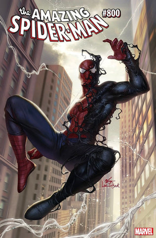 AMAZING SPIDER-MAN #800 INHYUK LEE EXCLUSIVE VAR LEG