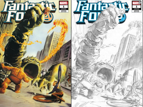 FANTASTIC FOUR #1 ALEX ROSS VARIANT 2 PACK