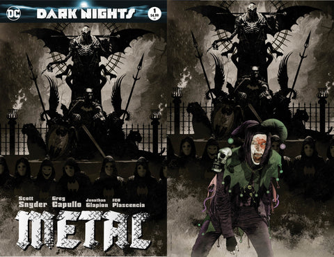 DARK NIGHTS METAL #1 (OF 6) EXCLUSIVE TIM BRADSTREET 2 PACK