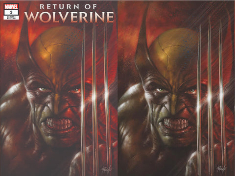RETURN OF WOLVERINE #1 (OF 5) LUCIO PARRILLO COMICXPOSURE 2 PACK EXCLUSIVE