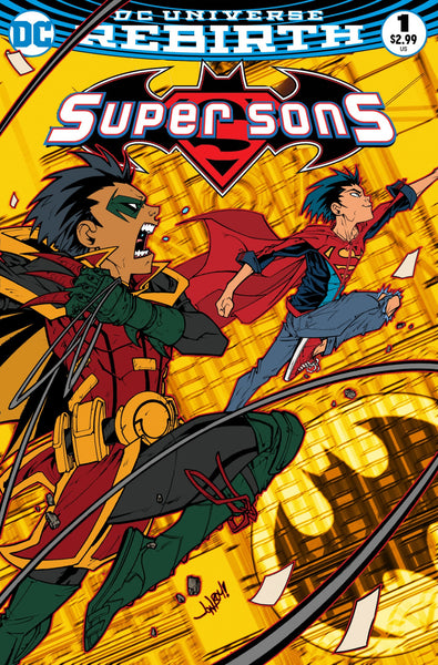 SUPER SONS #1 FRIED PIE JONBOY MEYERS VARIANT