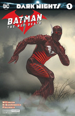 BATMAN THE RED DEATH #1 NYCC RICCARDO FEDERICI