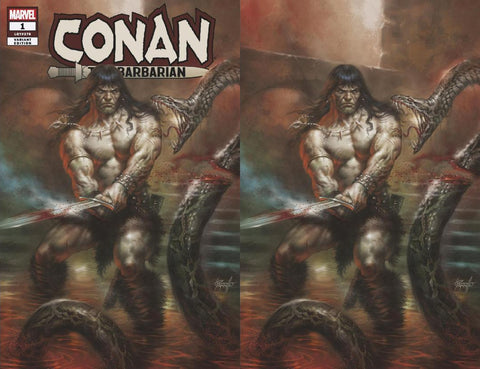 CONAN THE BARBARIAN #1 LUCIO PARRILLO 2 PACK EXCLUSIVE