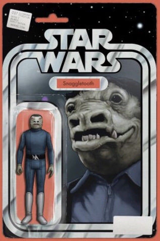 STAR WARS #37 EXCLUSIVE JTC BLUE SNAGGLETOOTH ACTION FIGURE VARIANT