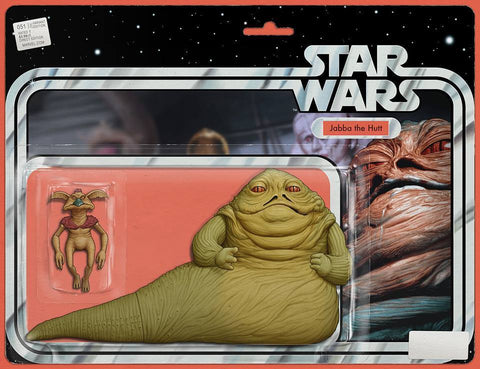 STAR WARS #51 CHRISTOPHER JABBA ACTION FIGURE VAR