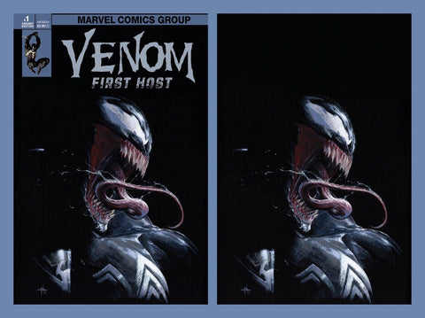 VENOM FIRST HOST #1 (OF 5) DELLOTTO 2 PACK EXCLUSIVE