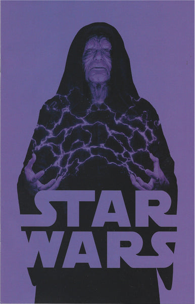 STAR WARS #58 JTC EXCLUSIVE EMPEROR PALPATINE NEGATIVE VARIANT