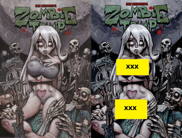 ZOMBIE TRAMP ONGOING #57 SIMON BISLEY 2 PACK EXCLUSIVE