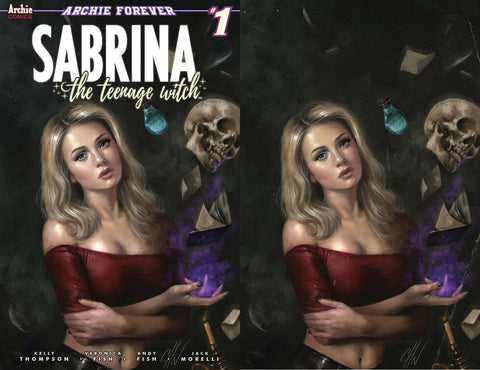 SABRINA TEENAGE WITCH #1 (OF 5) CARLA COHEN COMICXPOSURE 2 VINTAGE PACK EXCLUSIVE