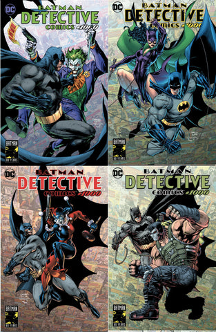 DETECTIVE COMICS #1000 JIM LEE 4 PACK  EXCLUSIVE