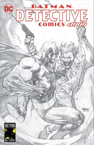 DETECTIVE COMICS #1000 JIM LEE SKETCH EXCLUSIVE