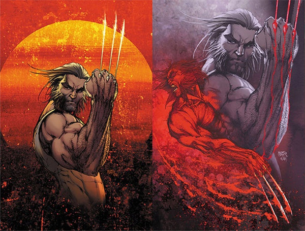 WEAPON X #1 MICHAEL TURNER WOLVERINE LOGAN A & B VARIANT SET