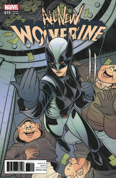ALL NEW WOLVERINE #19 TORQUE VARIANT