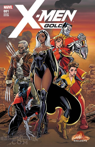 X-MEN GOLD #1 J SCOTT CAMPBELL A VARIANT