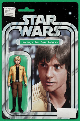 STAR WARS #40 JOHN TYLER CHRISTOPHER ACTION FIGURE EXCLUSIVE