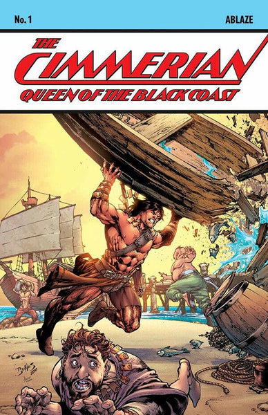 CIMMERIAN QUEEN OF BLACK COAST #1 CVR C ED BENES (MR)