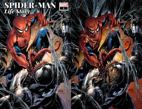 SPIDER-MAN LIFE STORY #1 (OF 6) TYLER KIRKHAM 2 PACK EXCLUSIVE