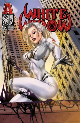 WHITE WIDOW #2 SUNRISE JAMIE TYNDALL FOIL EXCLUSIVE
