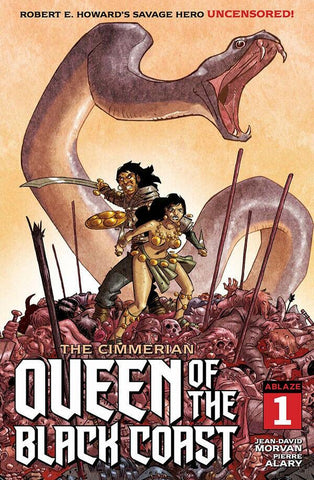 CIMMERIAN QUEEN OF BLACK COAST #1 CVR D PIERRE ALARY (MR)