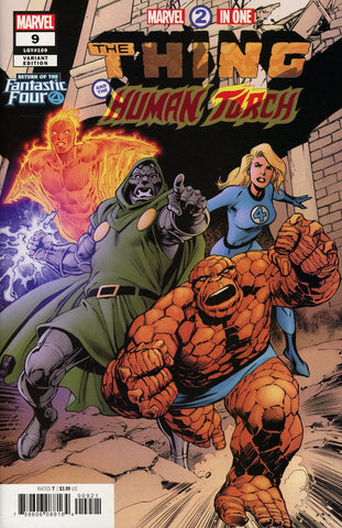 MARVEL TWO-IN-ONE #9 DAVIS RETURN OF FANTASTIC FOUR VAR