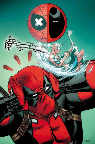 SPIDERMAN DEADPOOL #5 1st PRINT COVER