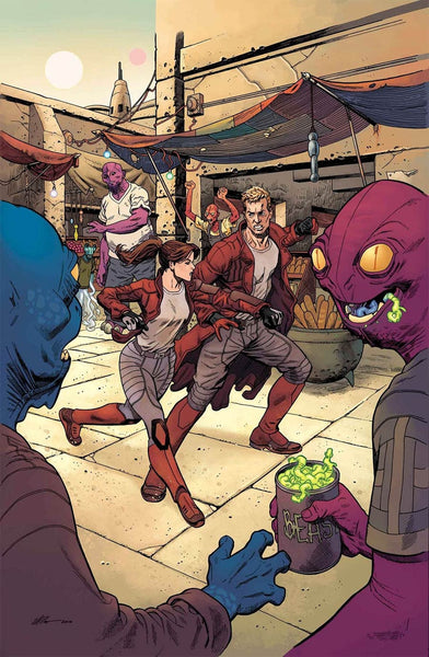 STAR LORD VOL 2 #7 1st PRINT COVER