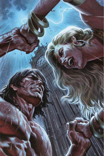 LORDS OF THE JUNGLE #4 COVER D FELIPE MASSAFERA VIRGIN VARIANT