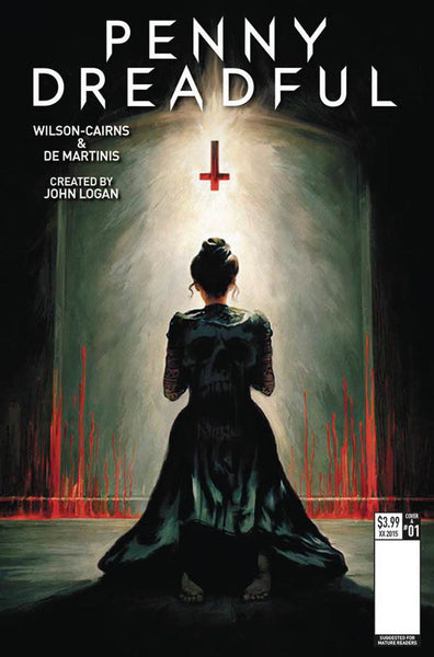 PENNY DREADFUL #2 COVER A PIERCE