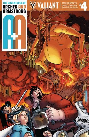A&A #4 ADVENTURES OF ARCHER & ARMSTRONG CVR A LAFUENTE