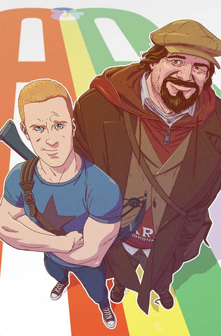 A&A #4 ADVENTURES OF ARCHER & ARMSTRONG CVR B KANO VARIANT