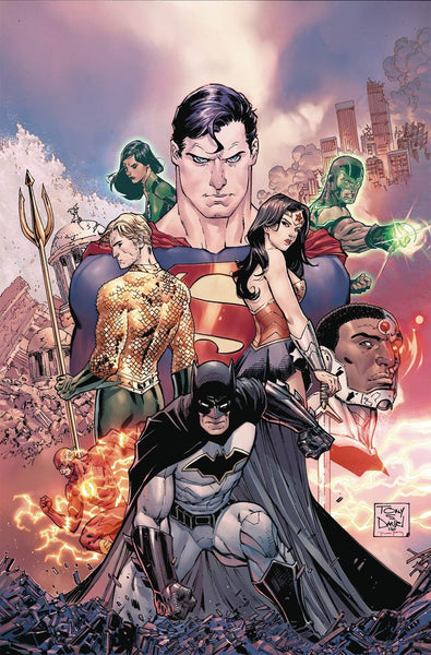 JUSTICE LEAGUE #1 1st PRINT COVER A