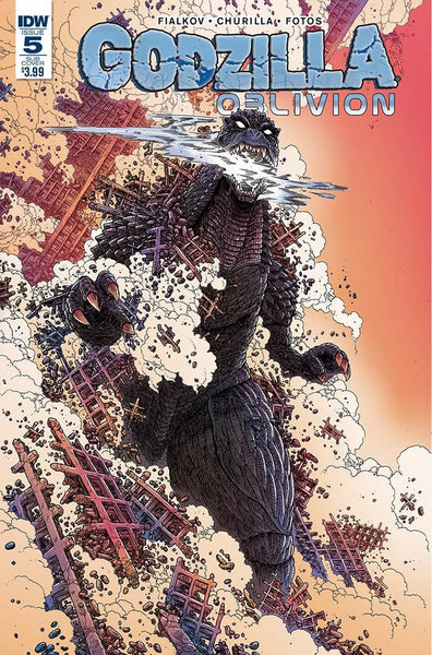 GODZILLA OBLIVION #5 (OF 5) SUBSCRIPTION VARIANT