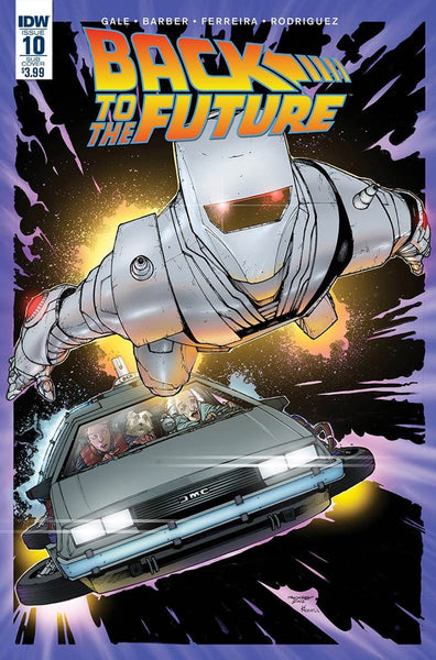 BACK TO THE FUTURE #10 ROM VARIANT
