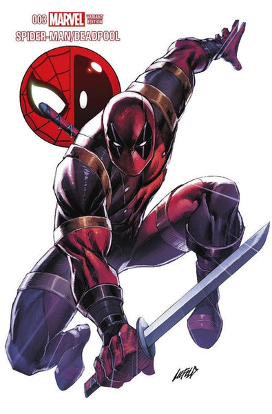 SPIDERMAN DEADPOOL #3 ROB LIEFELD FAN EXPO LIMITED ED VARIANT