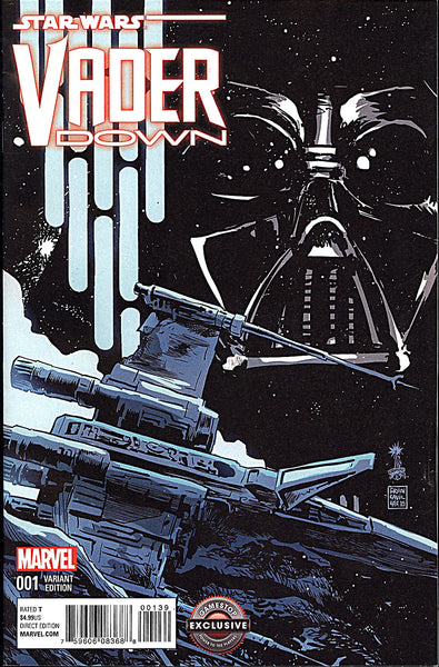 STAR WARS VADER DOWN #1 GAMESTOP EXCLUSIVE VARIANT