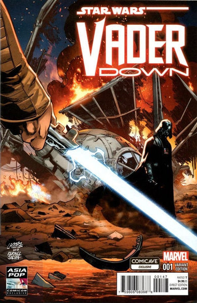 STAR WARS VADER DOWN #1 COMICAVE ASIA POP CON VARIANT