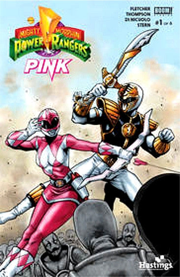POWER RANGERS PINK #1 HASTINGS VARIANT