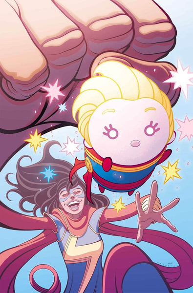 MS MARVEL VOL 4 #10 COVER B MARVEL TSUM TSUM TAKEOVER VARIANT